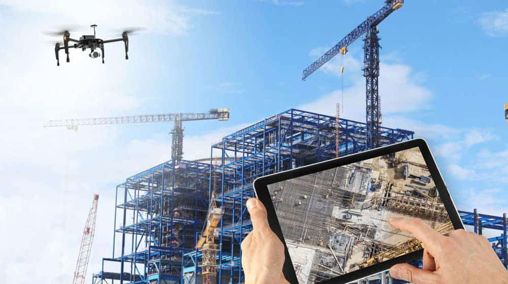 Building inspection and surveys from Drone Works Ireland