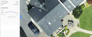 Roof inspection from Drone Works Ireland in Galway City