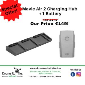mavic air 2 charging hub and battery