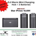 DJI Mavic Mini batteries and charging hub
