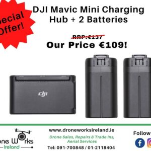DJI Mavic Mini batteries and charging hub